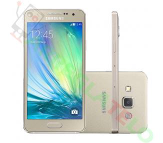 """Samsung Galaxy A3 - 4,5,8 Mp, 16 GB, czterordzeniowy, 1 GB RAM, złoty """""""