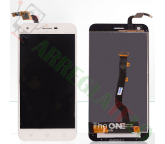 Pantalla Completa para Vodafone Smart Ultra 6 VF995N Blanco Blanca ARREGLATELO - 2