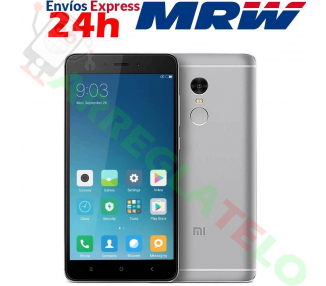 Xiaomi Redmi 4 Black 2 GB RAM, 16 GB ROM. WIELOJĘZYCZNA HISZPAŃSKA ROM