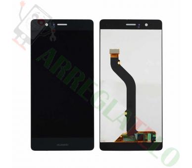 Schermo intero per Huawei P9 Lite L21 L31 L22 L23 L53 Nero Nero ARREGLATELO - 2