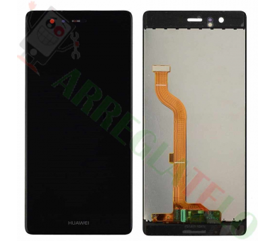 Display For Huawei P9 | Color Black | ULTRA+ - 2