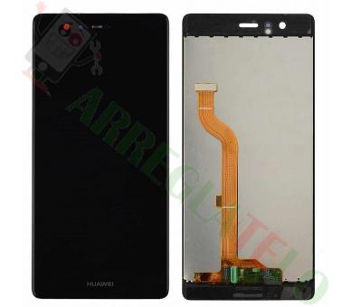 Volledig scherm voor Huawei P9 EVA-L09 EVA-L19 EVA-L29 Zwart Zwart FIX IT - 2