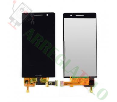 Volledig scherm voor Huawei Ascend P6 P6-U06 Zwart Zwart FIX IT - 2