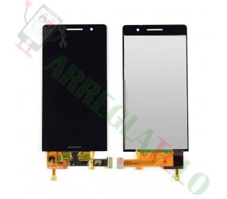 Pełny ekran dla Huawei Ascend P6 P6-U06 Czarny Czarny
