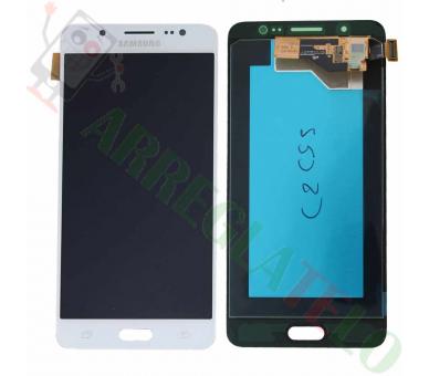 Oryginalny pełny ekran do Samsung Galaxy J5 2016 J510F J510 J510FN biały Samsung - 2