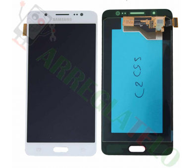 Display For Samsung Galaxy J5 2016, Color White, OLED Samsung - 2