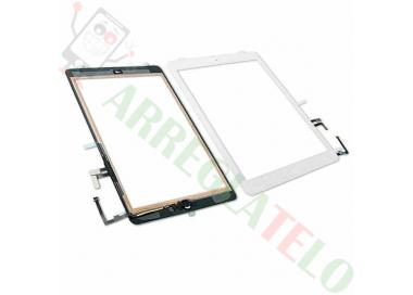 Pantalla Tactil Digitalizador para iPad Air + Boton Home Blanco Blanca ARREGLATELO - 1