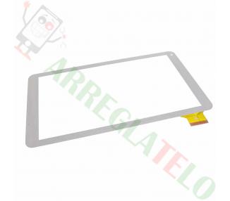 Touch Screen Universale per Tablet Touch Screen Szenio 5000 Bianco 10 Bianco