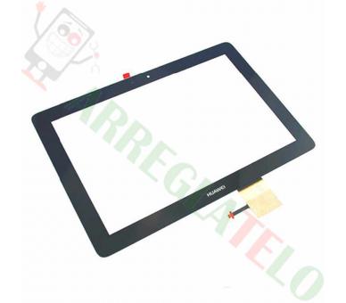 """Bildschrim Touchscreen Glass für Tablet Huawei MediaPad 10 10"""" Schwarz _ - 1"""