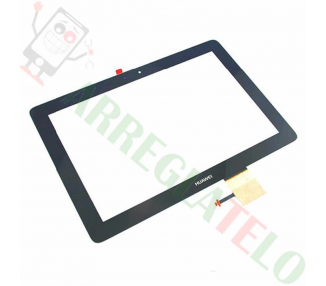 "Touch Digitizer Vetro per Tablet Huawei MediaPad 10 10"" Nero"