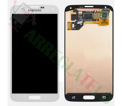 Display For Samsung Galaxy S5, Color White, OLED Samsung - 2