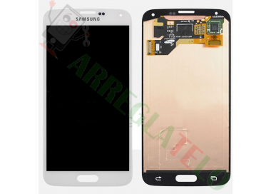 Pantalla Original para Samsung Galaxy S5 G900F i9600 - G900 A T V S5 Plus Blanco Samsung - 2
