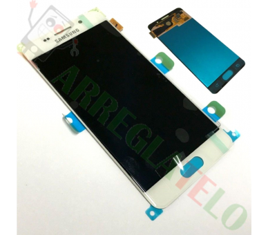 Display For Samsung Galaxy A3 2015, Color White, OLED Samsung - 2