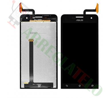 Volledig scherm voor Asus Zenfone 5 A500CG A501CG Zwart Zwart FIX IT - 2