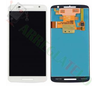 Display For Motorola Moto X Play, Color White