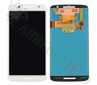 Pantalla Completa para Motorola Moto X Play XT1562 Blanco Blanca ARREGLATELO - 2
