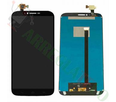 Display For Alcatel Hero 2 OT8030, Color Black ARREGLATELO - 2