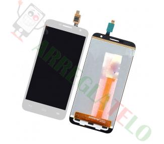 Oryginalny pełny ekran do Alcatel Orange Hiro Idol Mini OT-6012 White